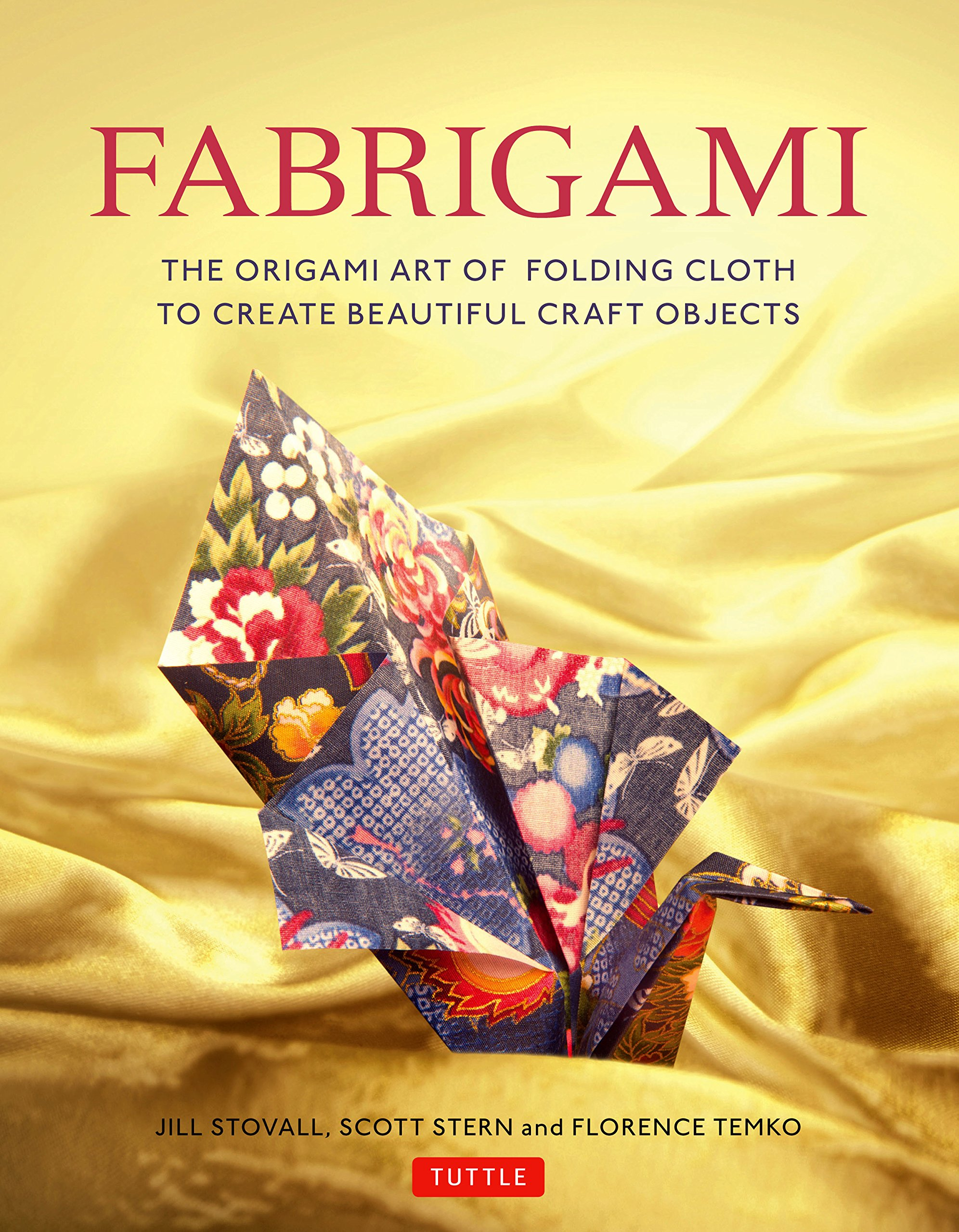 How To Make A Book Cover Cloth ~ Fabrigami the origami art of folding cloth to create decorative