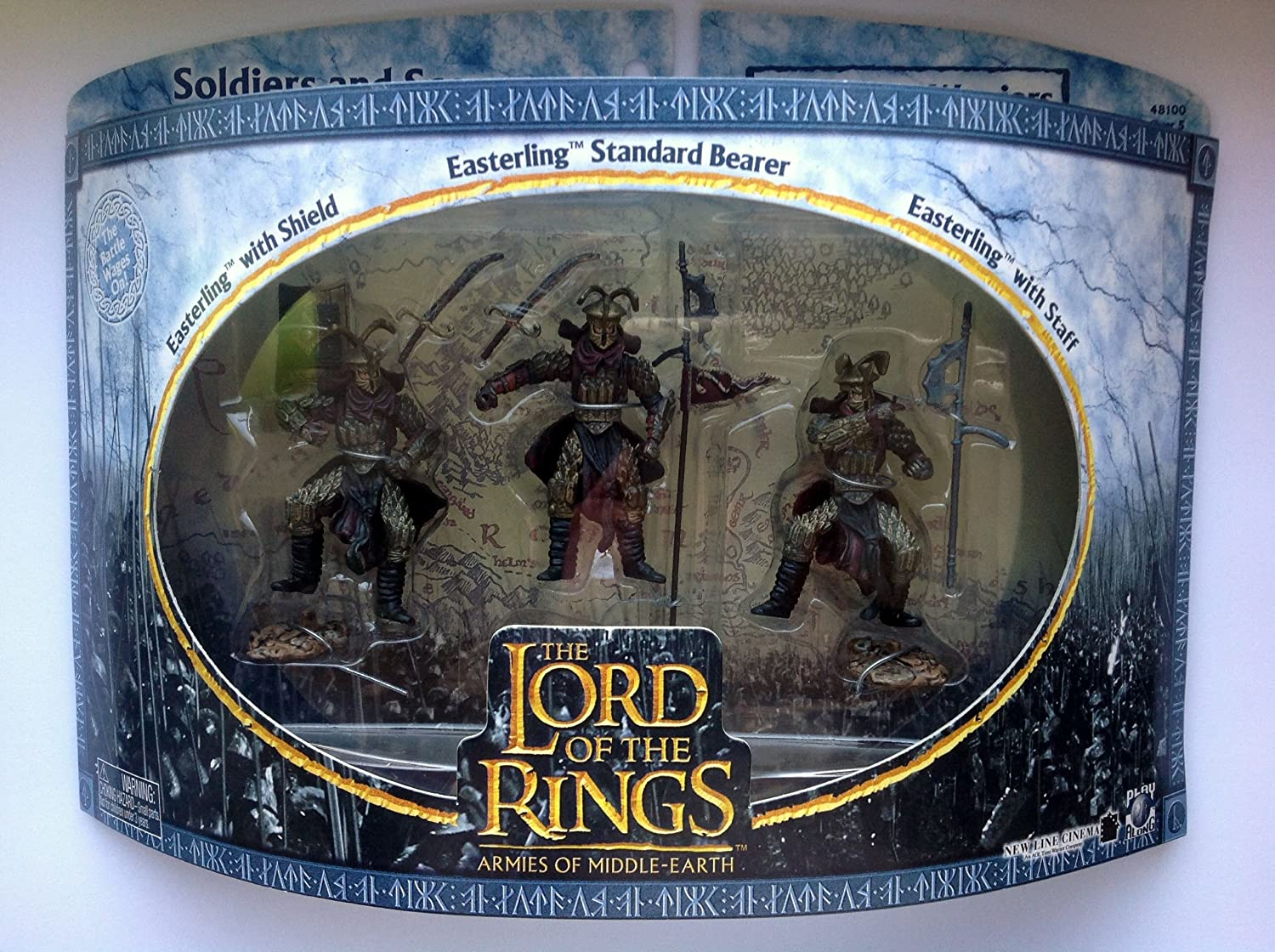 Rohan Soldiers 3-pack Figures Play Along 48100 Lord of the Rings Armies of the Middle Earth