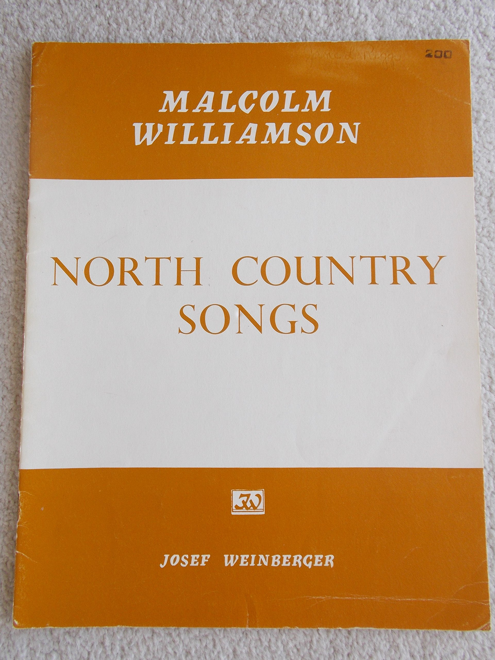 FOUR NORTH COUNTRY SONGS for Low Voice & Piano, (Captain