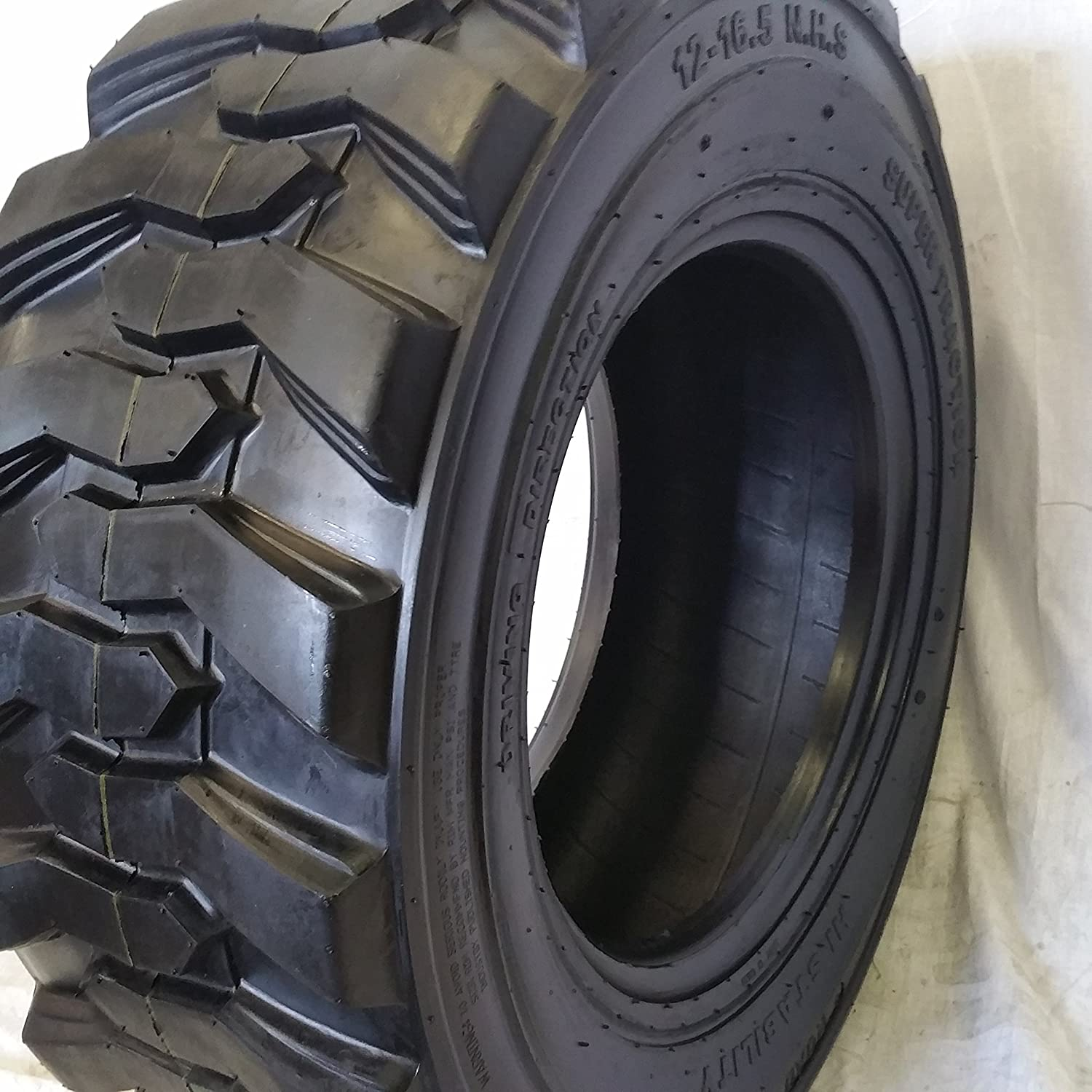 Amazon Com Road Crew 1 Tire 10 16 5 Skid Steer Loader Tire 14 Ply Nhs Sks 400 Automotive