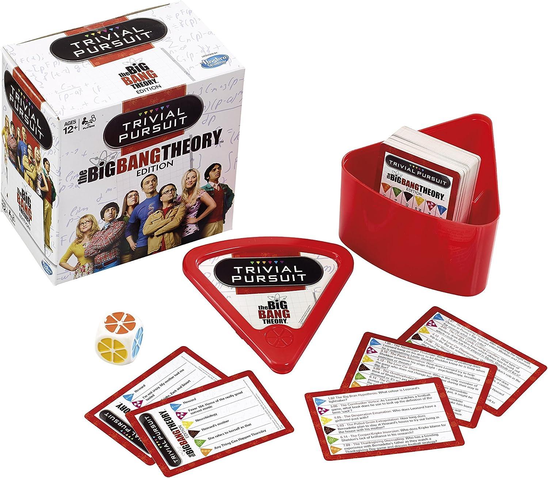 Trivial Pursuit - Juego de Preguntas, Tema Big Bang Theory, para 2 o más Jugadores (Winning Moves 22934) (versión en inglés): Amazon.es: Juguetes y juegos