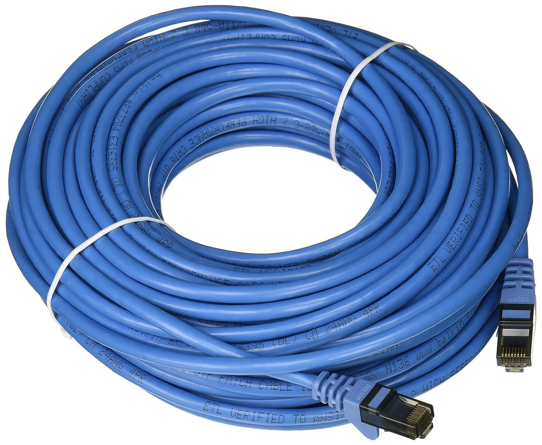 Belkin A3l980 75 Blu S Cat6 Snagless Patch Cable Rj45m Cat 5e Wiring Diagram Ft Blue Electronics