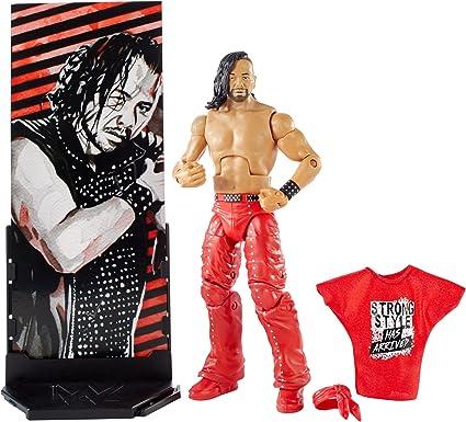Shinsuke Nakamura WWE Mattel Elite SERIES 57 ACTION FIGURE NEW HARD TO FIND