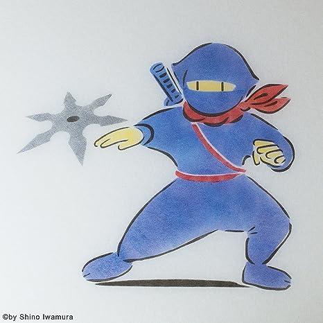 Shino Ninja - Lámpara Japonesa Hecha a Mano: Amazon.es: Hogar