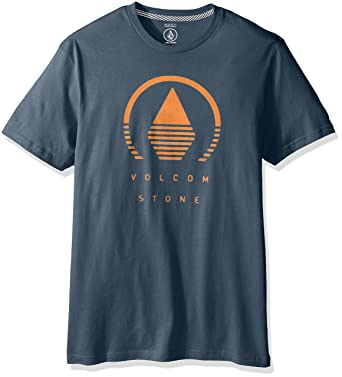 volcom t shirt  : Volcom Men's Horizon Short Sleeve T-Shirt, Airforce Blue ...