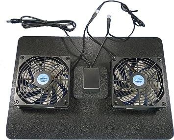 Receptor o Amplificador Megabase 12 voltios Ventilador de ...