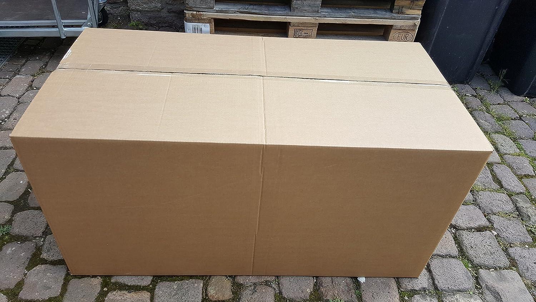 3 pieza Caja Plegable 120 x 60 x 60 cm fortuna para mudanza Cajas 2.40 BC 2 ondulaciones Estable Envío Caja La Máxima Caja Envíos Postales: Amazon.es: ...
