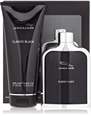 Jaguar Classic Black Bath Set Eau De Toilette + SG, 1er Pack (1 x 300 ml)