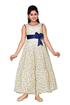33ff0a99777 Amazon.com  ADIVA Girl s Indian Party Wear Gown for Kids  Clothing