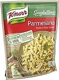 Knorr Spaghetteria Parmesana Nudel-Fertiggericht 2 Portionen (Verpackung Sortiert) (5 x 163 g)