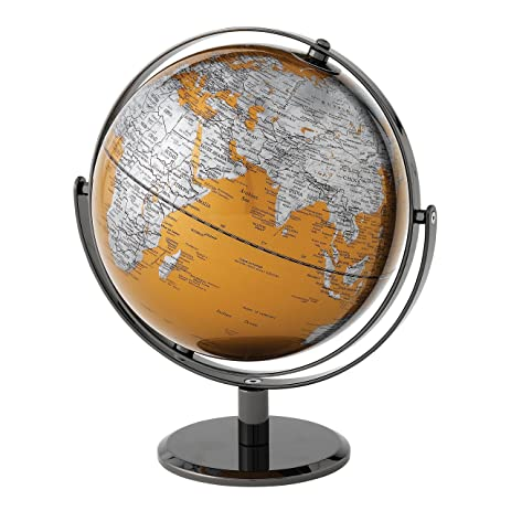 Amazon the globe collection gold world map globe 20cm the globe collection gold world map globe 20cm a27302 gumiabroncs Gallery