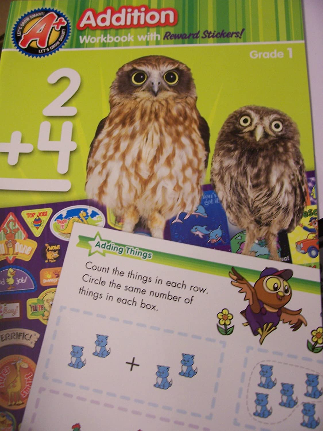 Amazon.com: A+ Educational Workbooks ~ Addition (Grade 1): Toys & Games