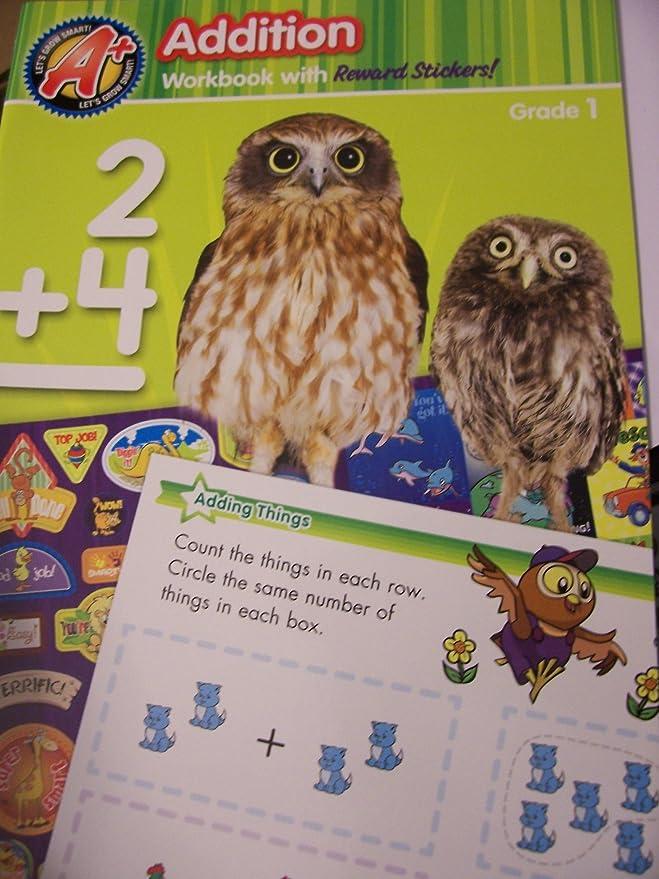 Amazon.com: A+ Educational Workbooks ~ Addition (Grade 1): Toys & Games