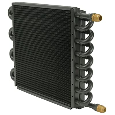 Derale 15300 Tube and Fin Cooler Core,Black: Automotive