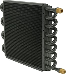 Derale 15300 Tube and Fin Cooler Core,Black