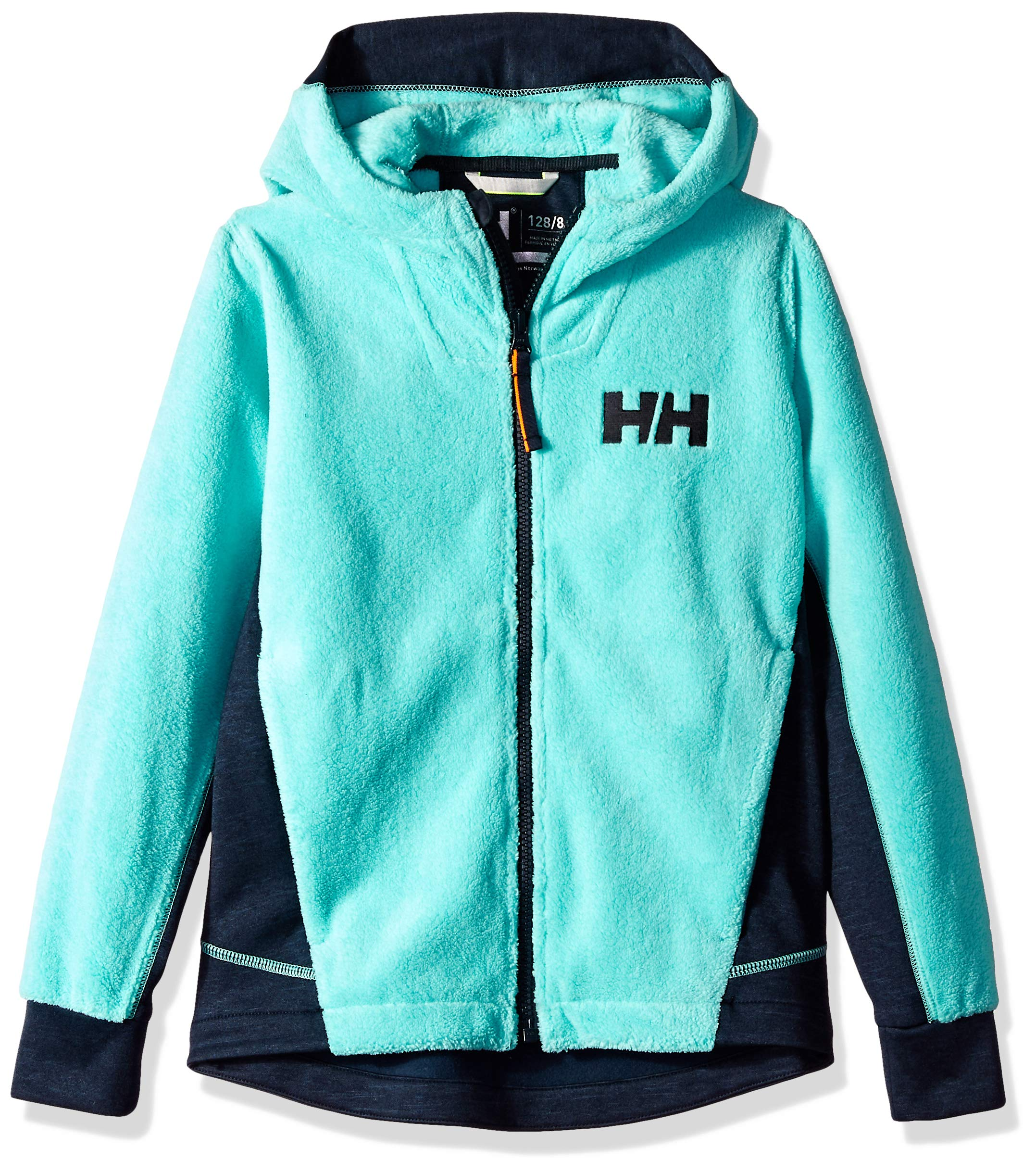 Helly Hansen Jr Chill Full-Zip Hoodie, Pool Blue, Size 16 by Helly Hansen (Image #1)