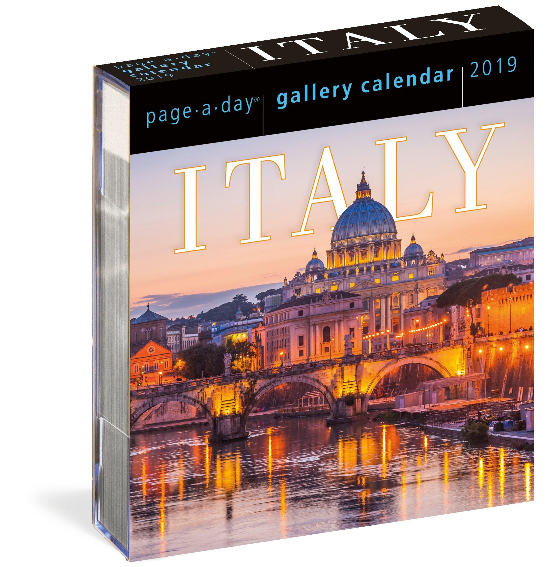 italy page a day gallery calendar 2019 ebook