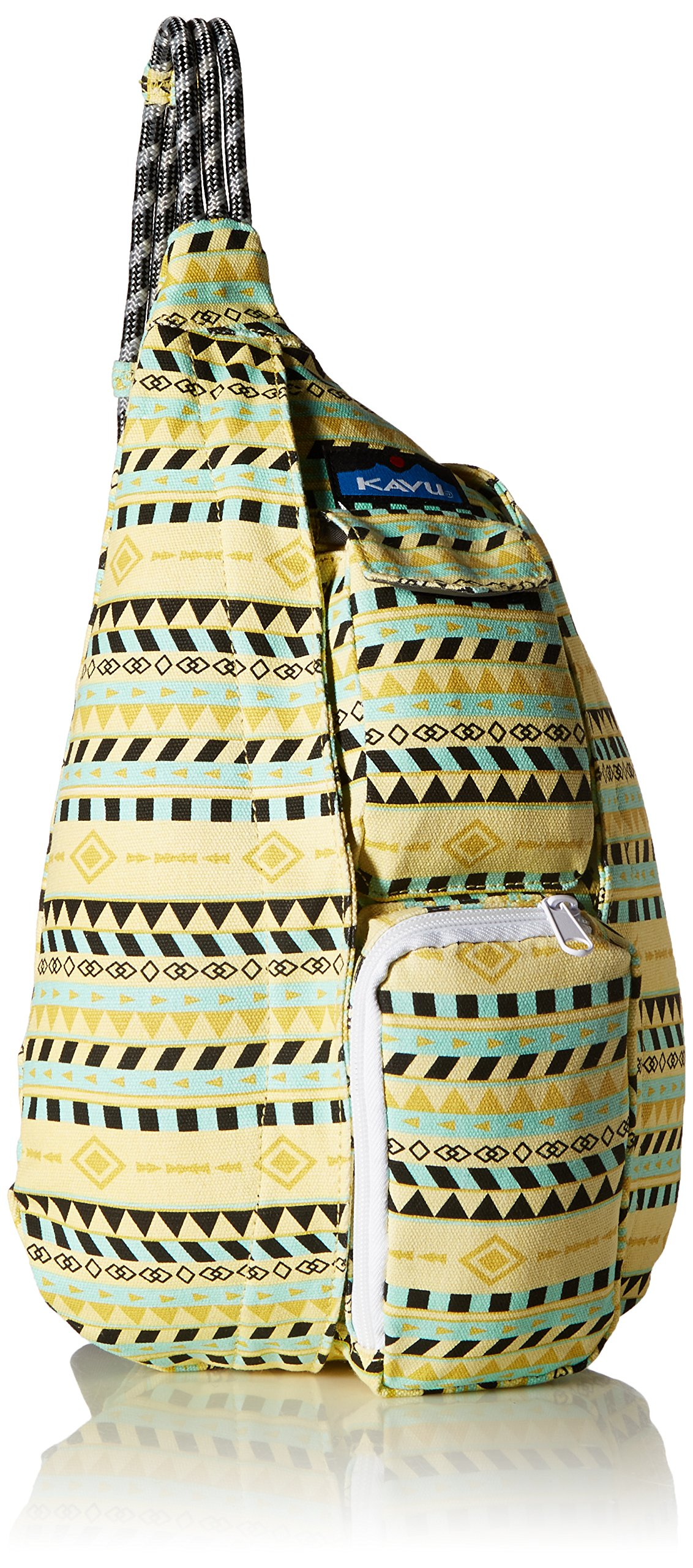KAVU Mini Rope Bag, Gold Belt, One Size