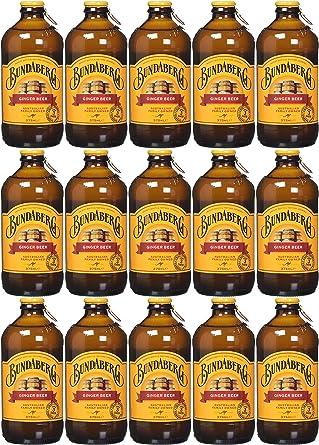 Bundaberg Ginger Beer 375 ml (Pack of 15): Amazon.es: Alimentación y bebidas