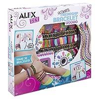 Alex - Loisirs Créatifs - Kit de bracelets brésiliens à tisser
