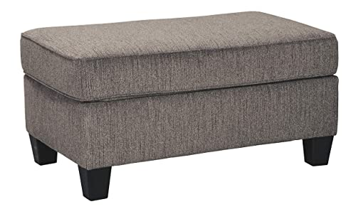 Signature Design by Ashley – Nemoli Ottoman, Slate
