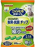 ニャンとも清潔トイレ脱臭・抗菌チップ極小の粒 2.5L