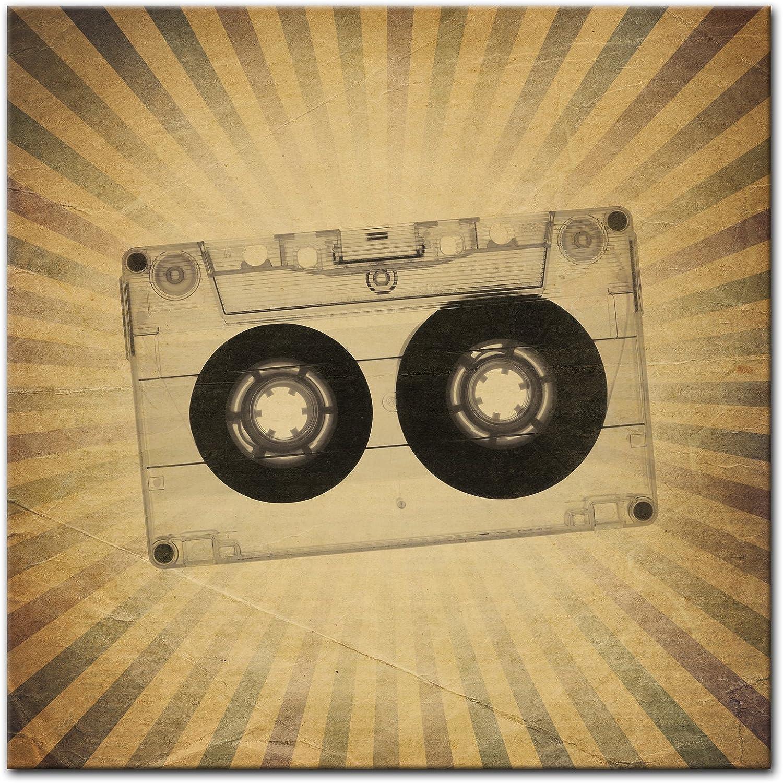 Bilderdepot24 Cuadros en Lienzo Época de Grunge de música Antigua ...
