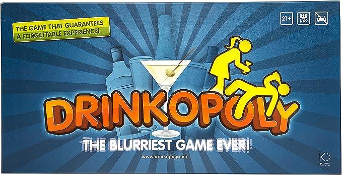 Drinkopoly - (El Juego más borroso jamás World Drinking Game: Amazon.es: Juguetes y juegos