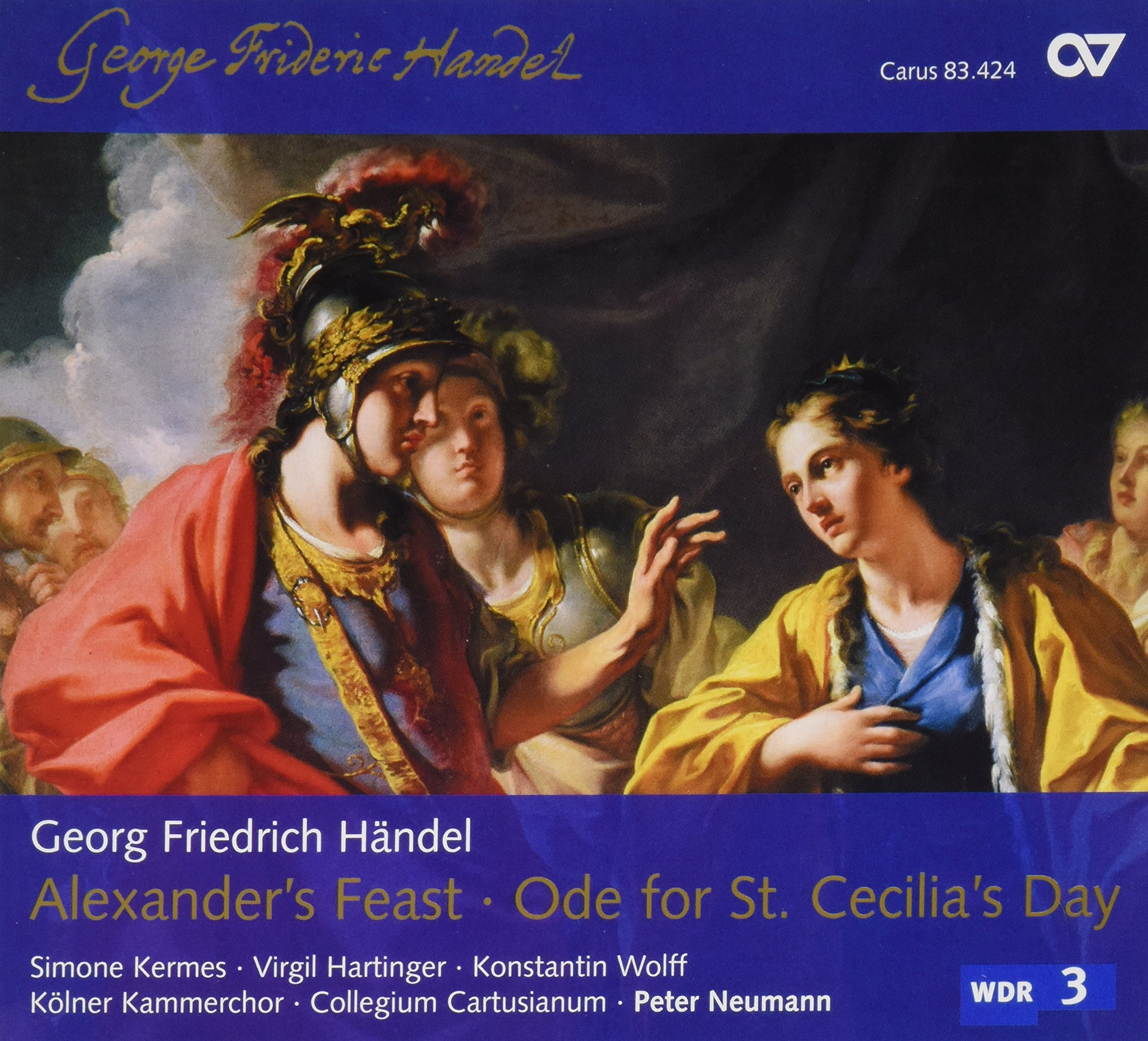 Handel: Alexander's Feast / Ode for St. Cecilia's Day