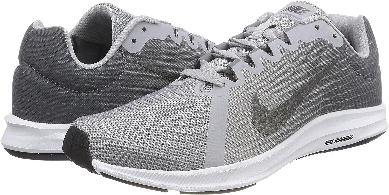Nike Downshifter 8, Zapatillas de Entrenamiento para Hombre, Gris (Wolf Grey/mtlc Dark Grey-Cool Grey-Black 004), 38.5 EU: Amazon.es: Zapatos y complementos