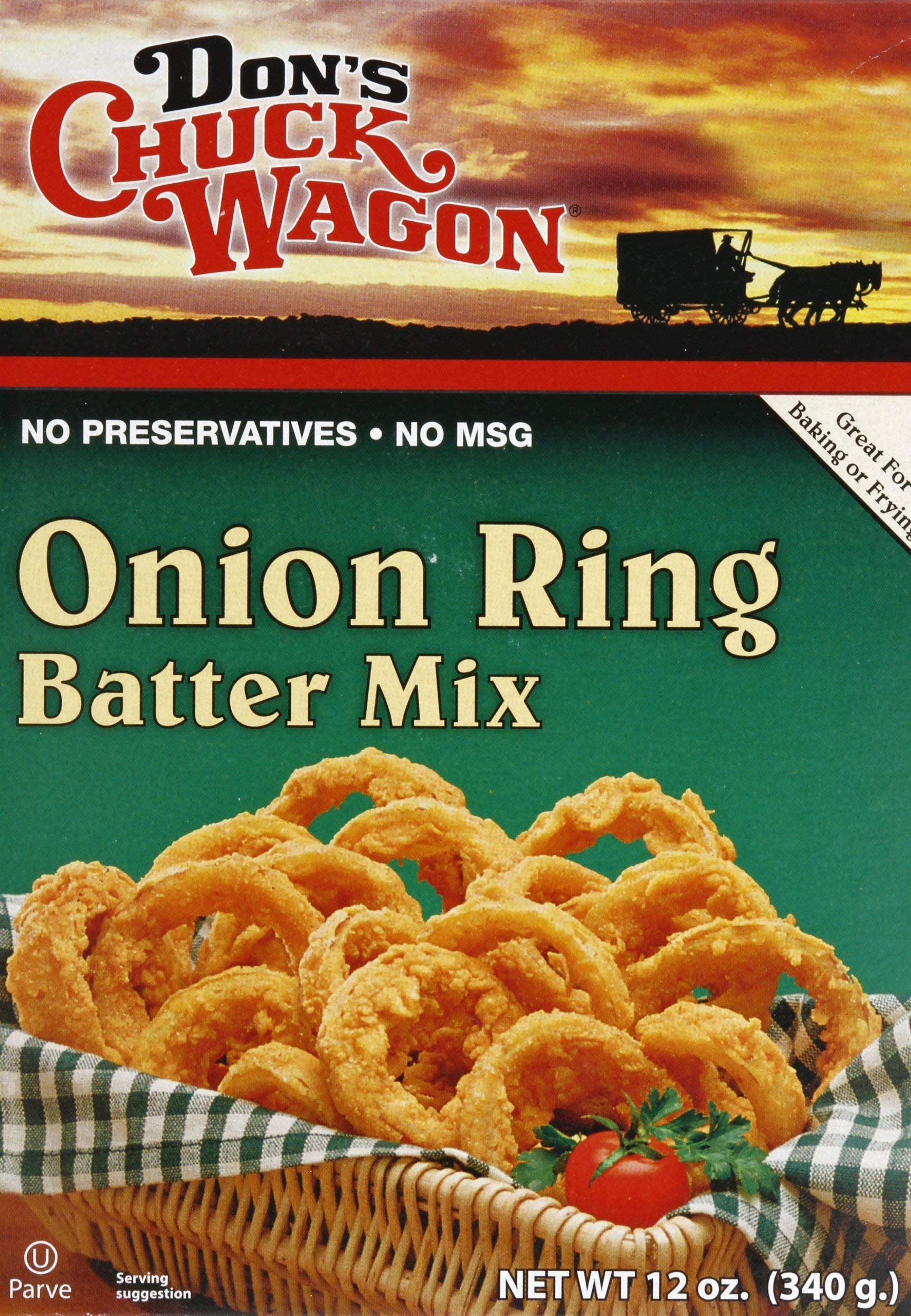 Don's Chuck Wagon Onion Ring Mix, 12 Ounce, Pack of 12 by Don's Chuck Wagon