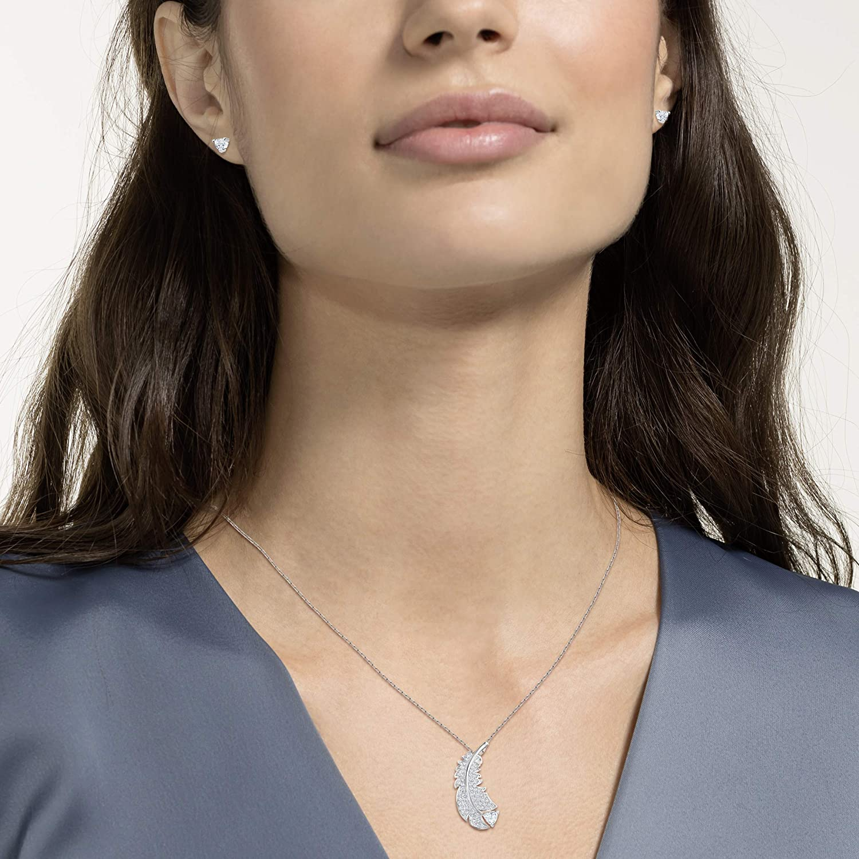 Parure Femme M/étal Rhodi/é Cristal Blanc Swarovski 5506758