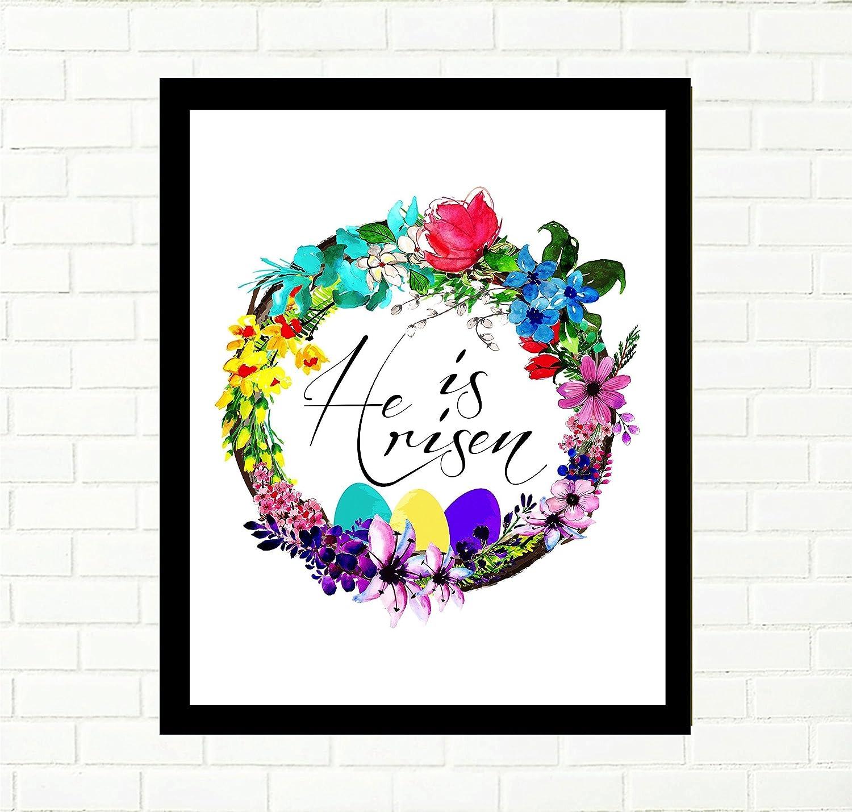 photo regarding He is Risen Printable named : He is risen, Easter printable artwork, Reward for her