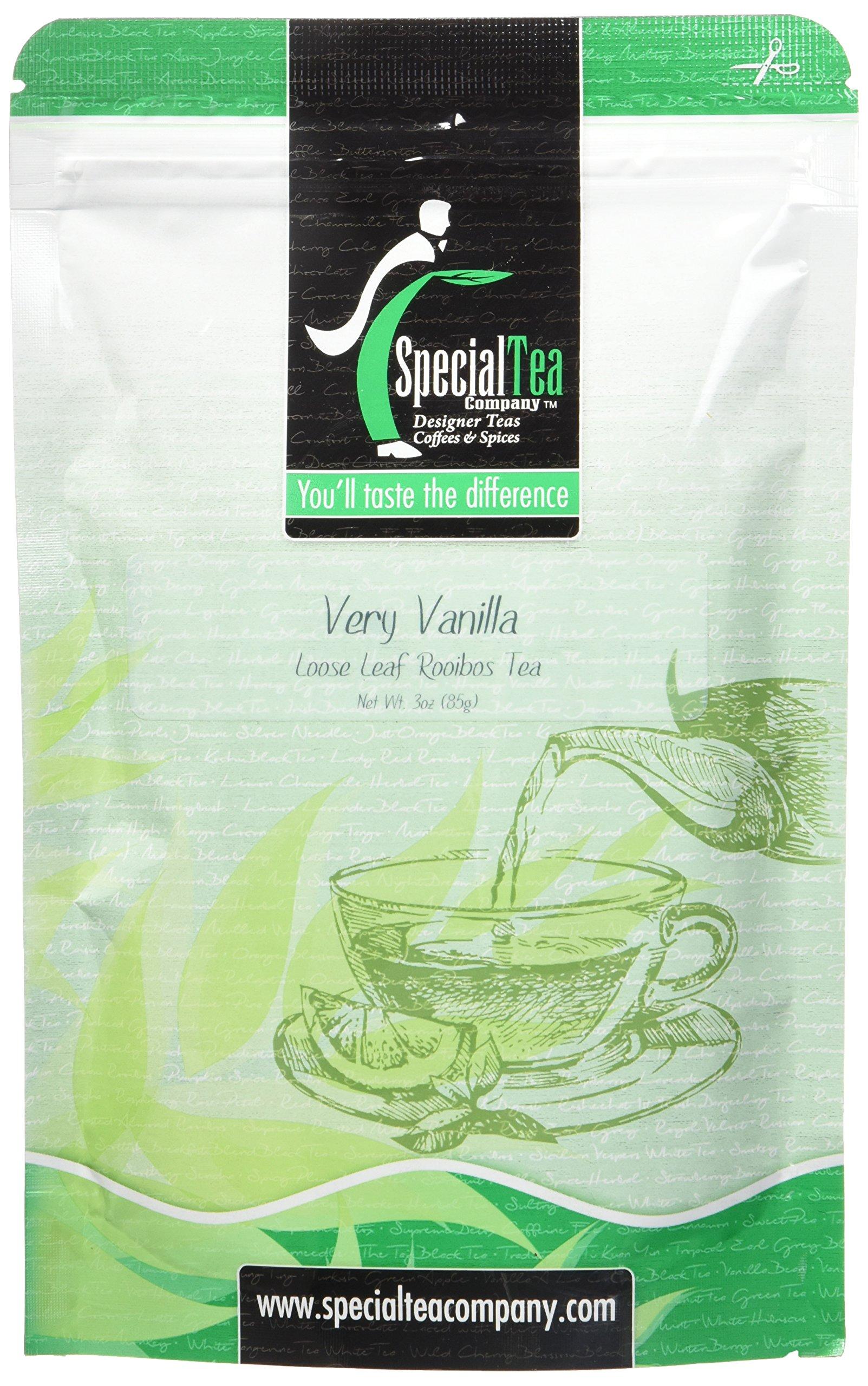 Special Tea Loose Leaf Rooibos Tea, Very Vanilla, 3 Ounce