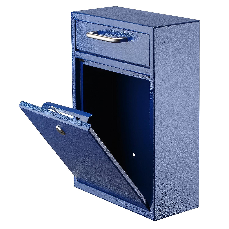 Adir Steel Large Ultimate Drop Box Wall Mounted Mail Box
