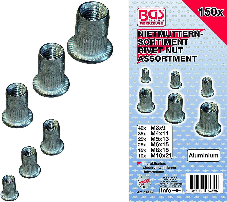 INSERTS FILETES ALU - ASSORTIMENT DE 3 à 10 mm OC-PRO