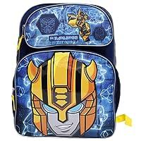 """Transformers""""Bumblebee"""" Large Dark Blue Boys' School Backpack"""