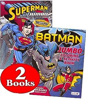 Amazon 11 Pack DC Marvel Coloring Activity Books Batman