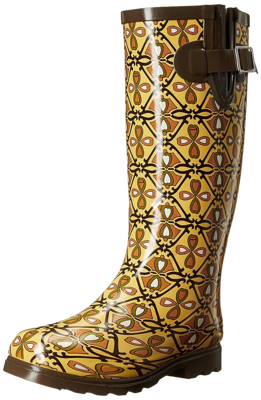 Nomad Women's Puddles Rain Boot B01B6602Q8 11 B(M) US|Heart Trellis