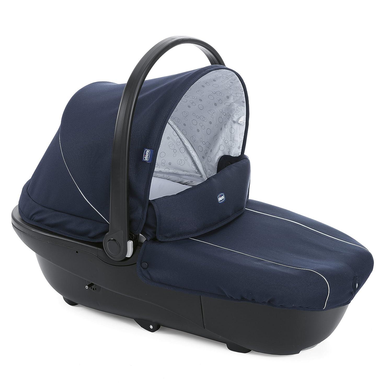 Chicco Trio Sprint Black - Sistema de paseo y viaje 3 en 1, capazo/carrito/ coche, grupo 0+, colección 2017, color azul pasión: Amazon.es: Bebé