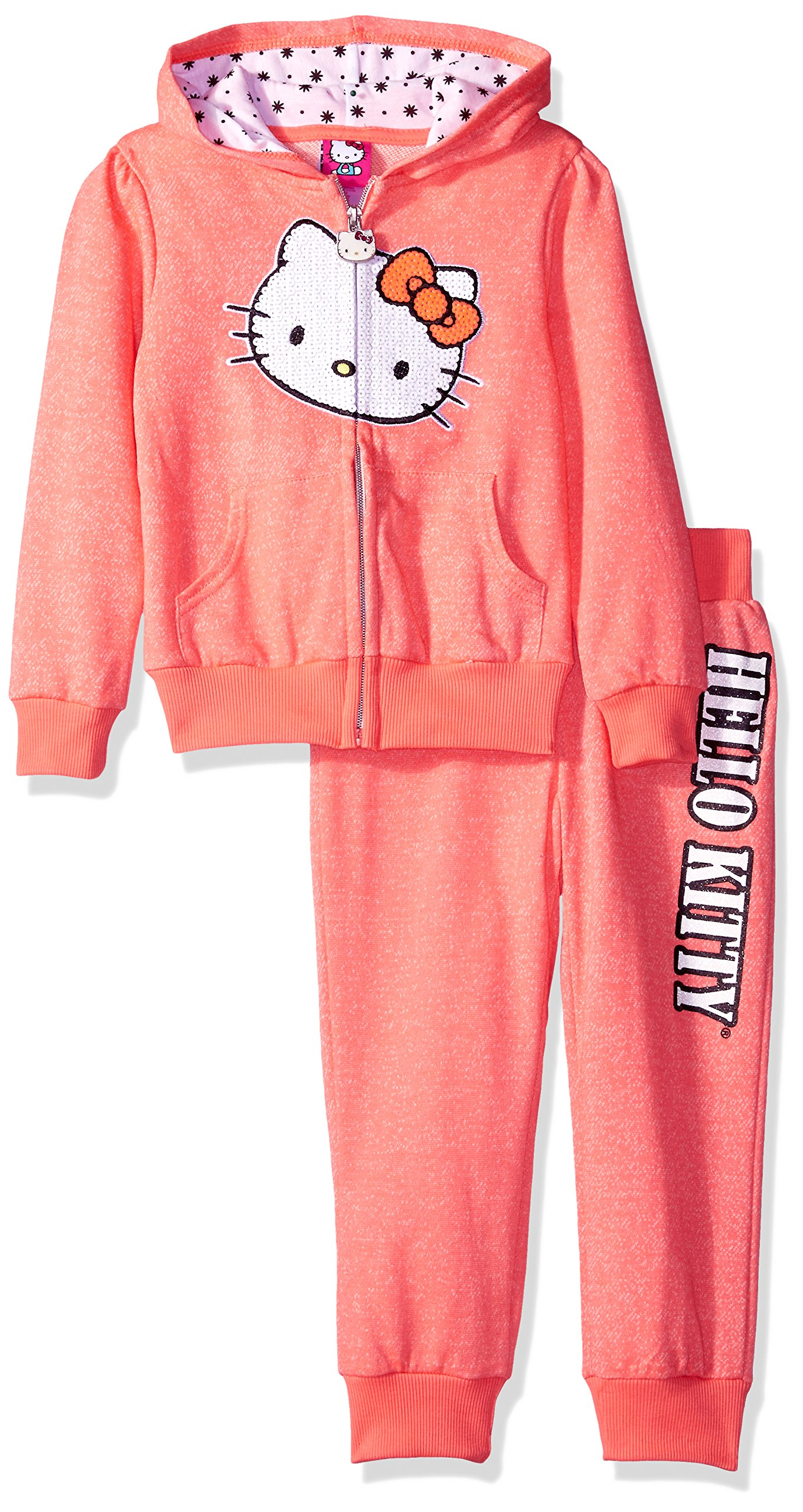 Hello Kitty Big Girls' French Terry Active