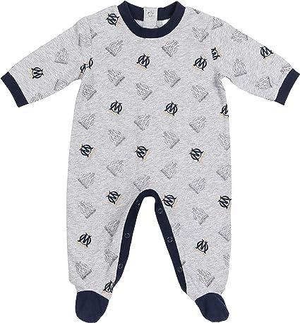 OLYMPIQUE DE MARSEILLE Grenouillère Pyjama Om bébé Collection Officielle Taille garçon
