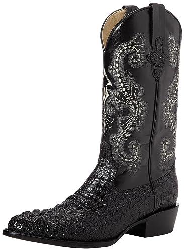 b273675d6 Ferrini Men s Print Crocodile R-Toe Western Boot