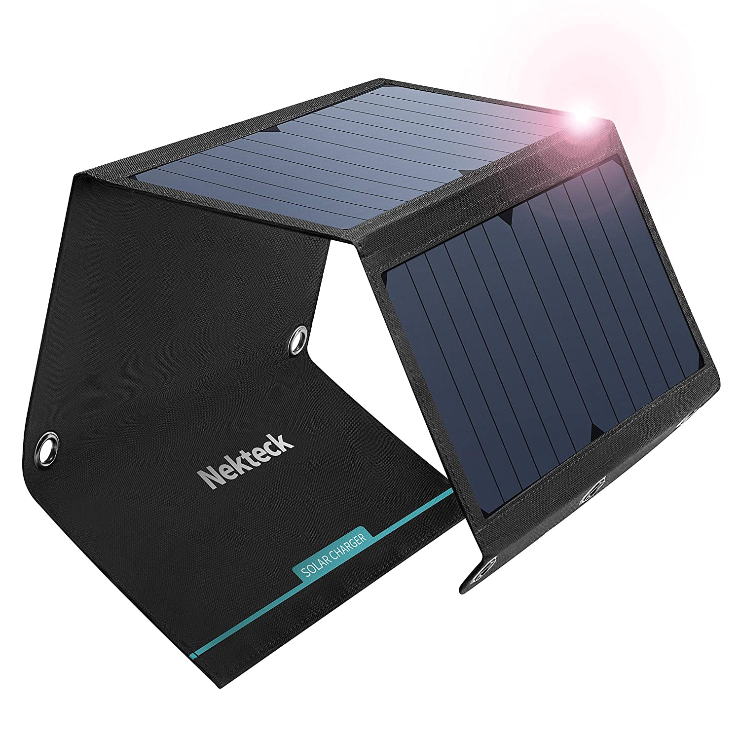 Nekteck 21W Solar Charger(5V/3A Max)
