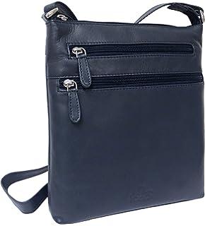 7218ebfb88 Rowallan Women s Leather Shoulder Bag  Amazon.co.uk  Luggage