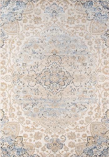 Momeni Rugs Amelia Collection Traditional Area Rug, 9 3 x 12 6 , Beige