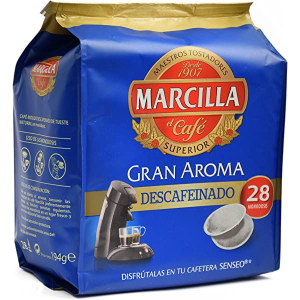 Independiente, M/áquina de caf/é en c/ápsulas, 1,2 L, Dosis de caf/é, Rojo Cafetera Senseo Quadrante HD7865//80