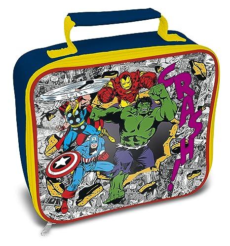 Marvel Comics Avengers, Bolsa de Almuerzo, Multicolor ...