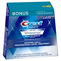 Deals on Crest 3D White Effects Whitestrips Whitening Strips Kit 22 Treatments