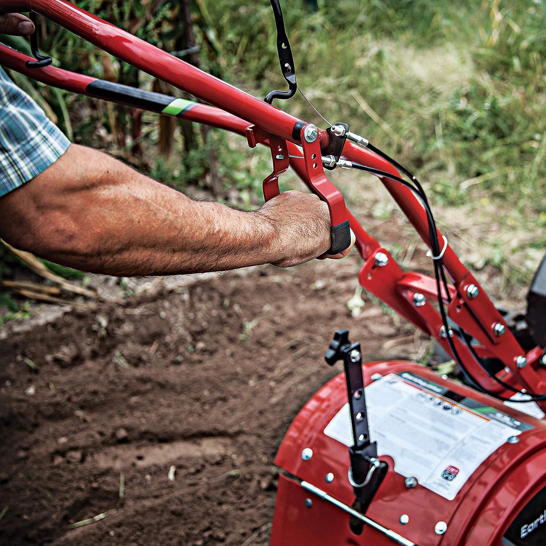 EARTHQUAKE 33970 Victory Rear Tine Tiller, Red : Garden & Outdoor